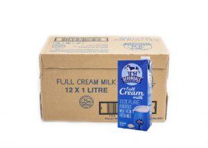Uht Full Cream Milk 10 x 1L (Devondale)