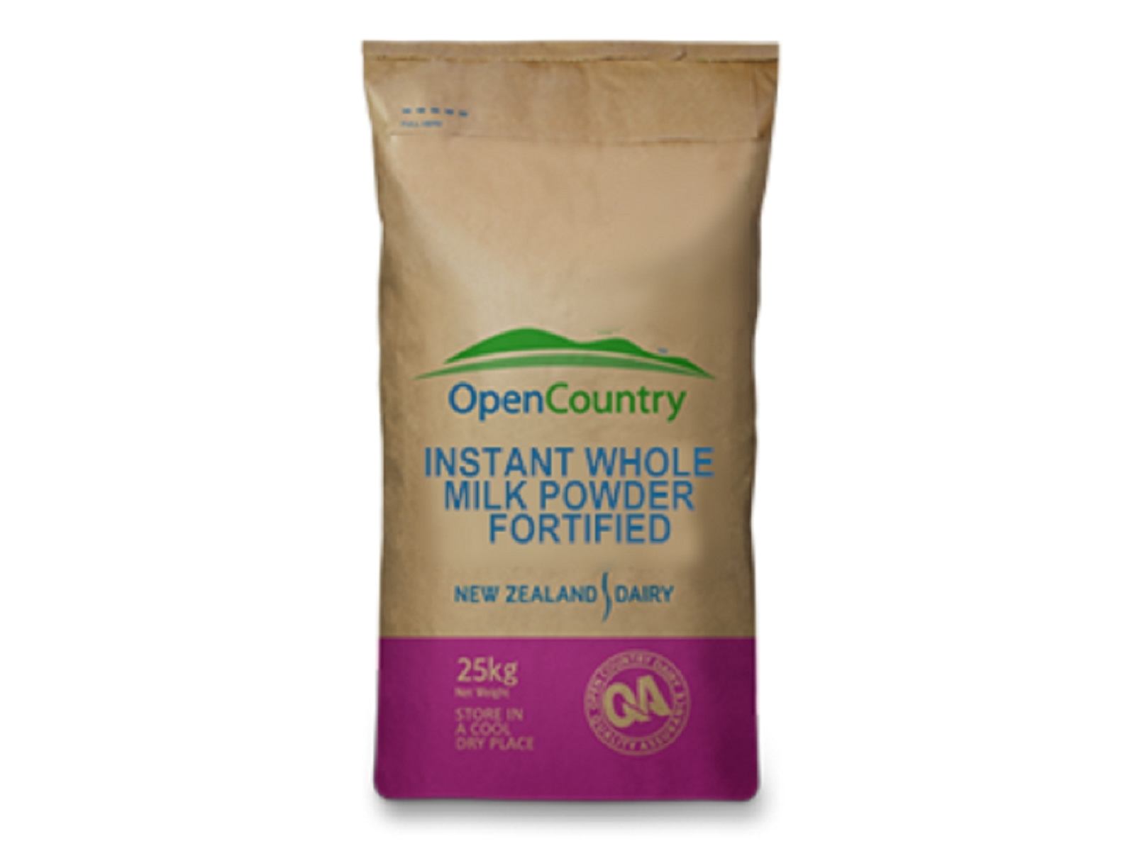 Open Country Instant Whole Milk Powder 25kg