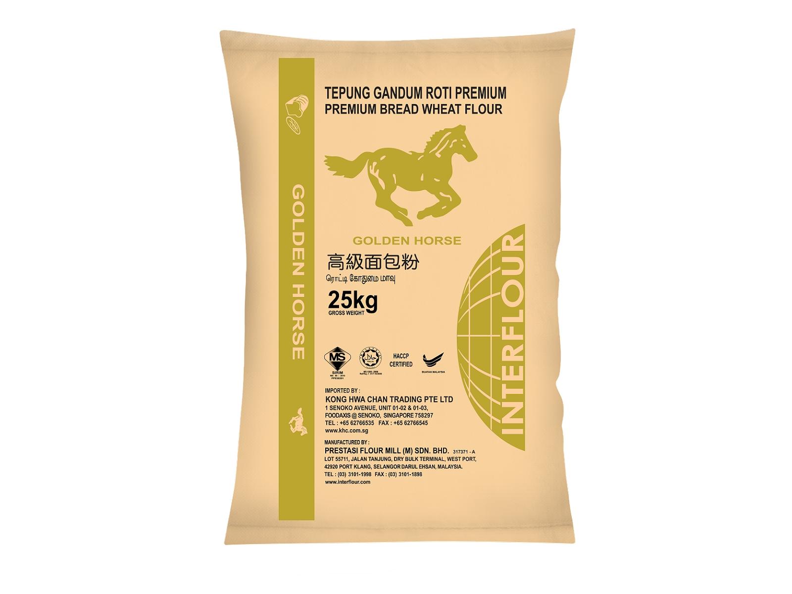 Golden Horse Premium Bread FLour 25kg