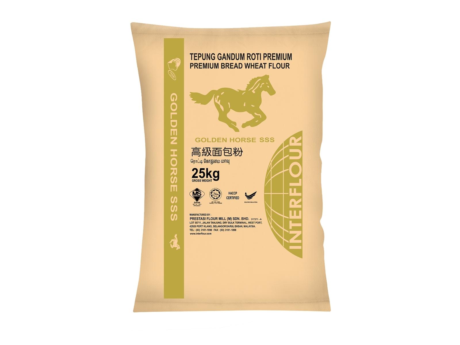 Golden Horse SSS Premium Bread FLour 25kg