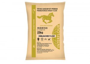 Golden Horse (Unbleached) Premium Bread FLour 25kg