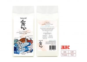 TANOSHĨ ALL PURPOSE JAPANESE PLAIN FLOUR 1KG