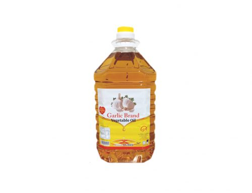 (KHC) Garlilc Brand Vegetable Cooking Oil 5L x 4Btl