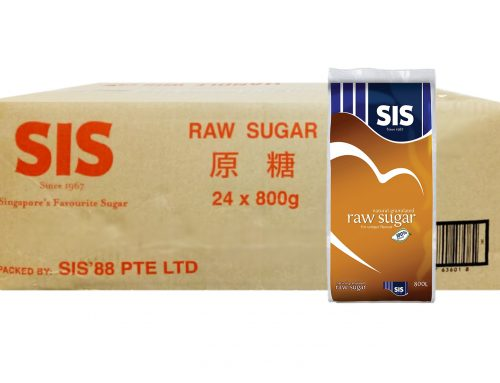 SIS Brand Raw Sugar 24 x 800g